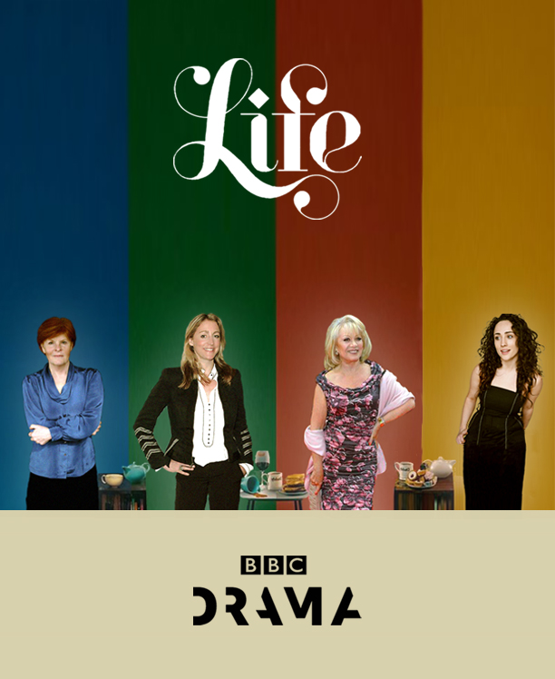 Elaine Paige,  Buffy Davis, Flora Montgomery and Rebecca Hesketh-Smith